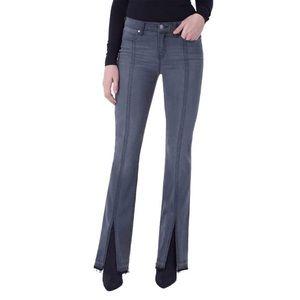 Liverpool Lucy Slit Front Titanium Bootcut Jeans 2